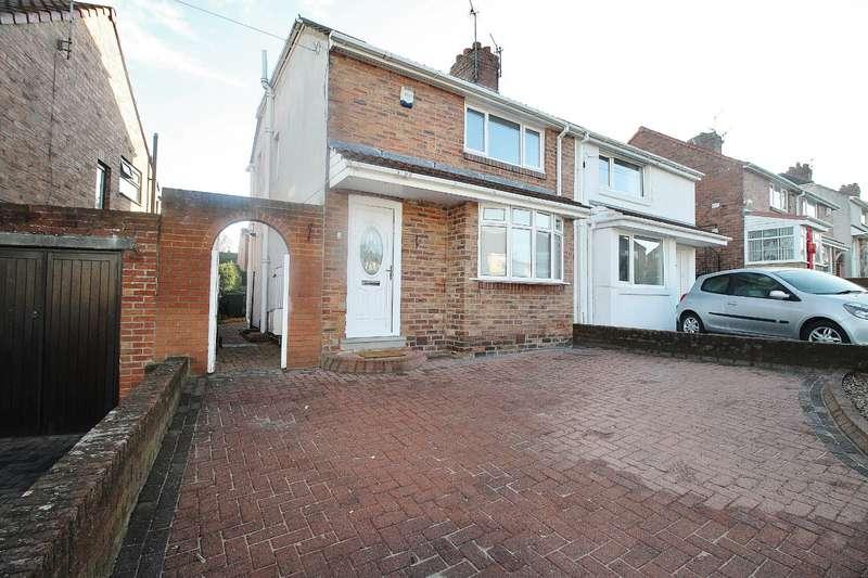 2 Bedrooms Semi Detached House for sale in Knightside Gardens, Dunston, Gateshead, NE11
