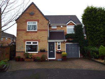4 Bedrooms Detached House for sale in Lapwing Close, Newton-le-Willows, Merseyside
