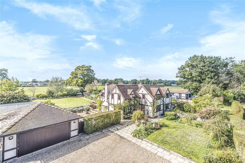 4 Bedrooms Semi Detached House for sale in Lambs Lane, Swallowfield, Reading, Berkshire, RG7