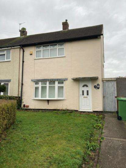2 Bedrooms Semi Detached House for sale in Edinburgh Avenue, Walsall, West Midlands
