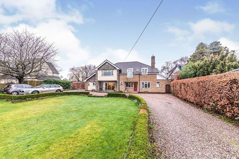 4 Bedrooms Detached House for sale in Eccleshall Road, Great Bridgeford, Stafford, ST18