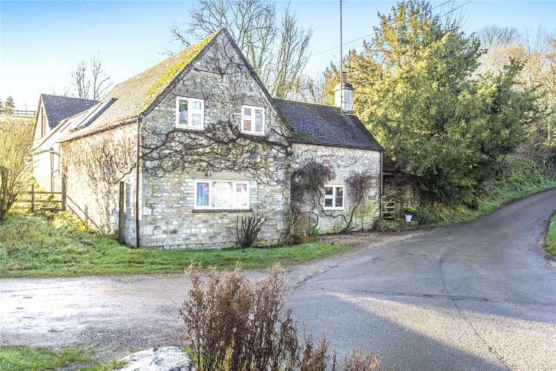 3 Bedrooms Detached House for sale in Ford Cottage, Middle Duntisbourne, Cirencester, GL7