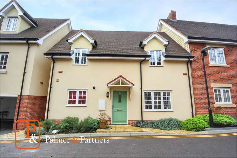 2 Bedrooms Semi Detached House for sale in Dame Mary Walk, Halstead