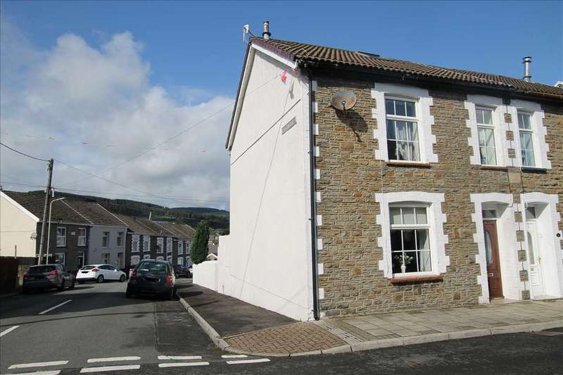 3 Bedrooms End Of Terrace House for sale in Bank Street, Tonypandy