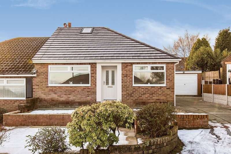 2 Bedrooms Semi Detached Bungalow for rent in Rivington Drive, Upholland, Skelmersdale, WN8