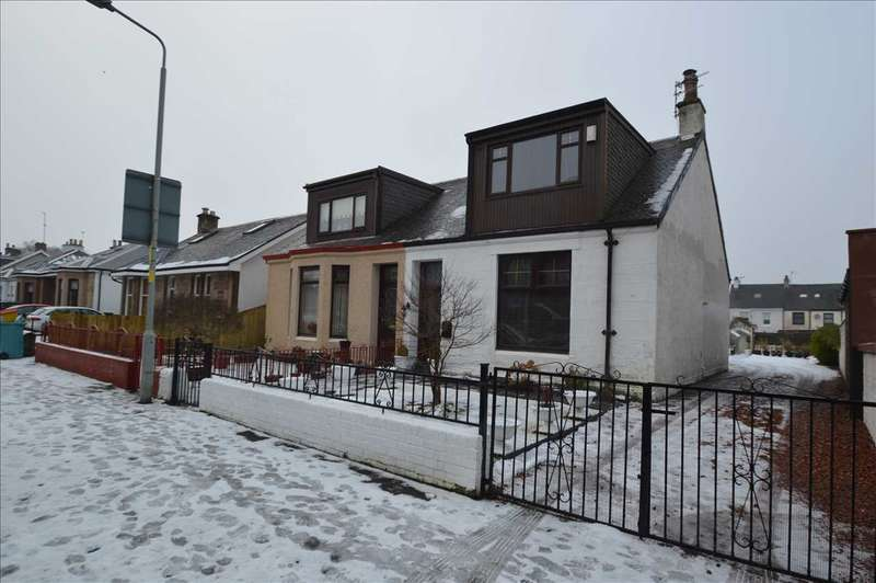 2 Bedrooms Semi Detached House for sale in Fir Park Street, Motherwell