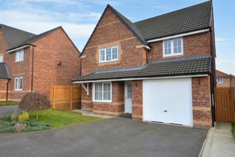 4 Bedrooms Detached House for sale in Poppy Fields View, Pontefract