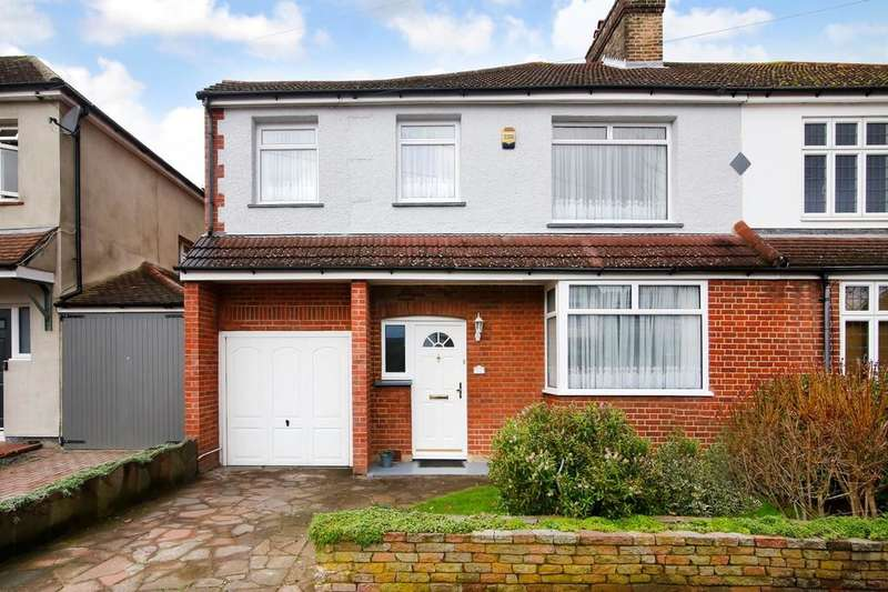 4 Bedrooms Semi Detached House for sale in Old Farm Road West, Sidcup, DA15 8AG