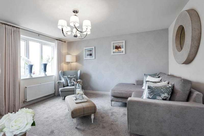 3 Bedrooms Terraced House for sale in The Fyvie, Ravenscraig, Plot 74, The Castings, Meadowhead Road, Ravenscraig, Wishaw