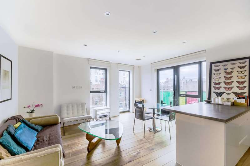 2 Bedrooms Flat for sale in Bicycle Mews, Clapham, SW4