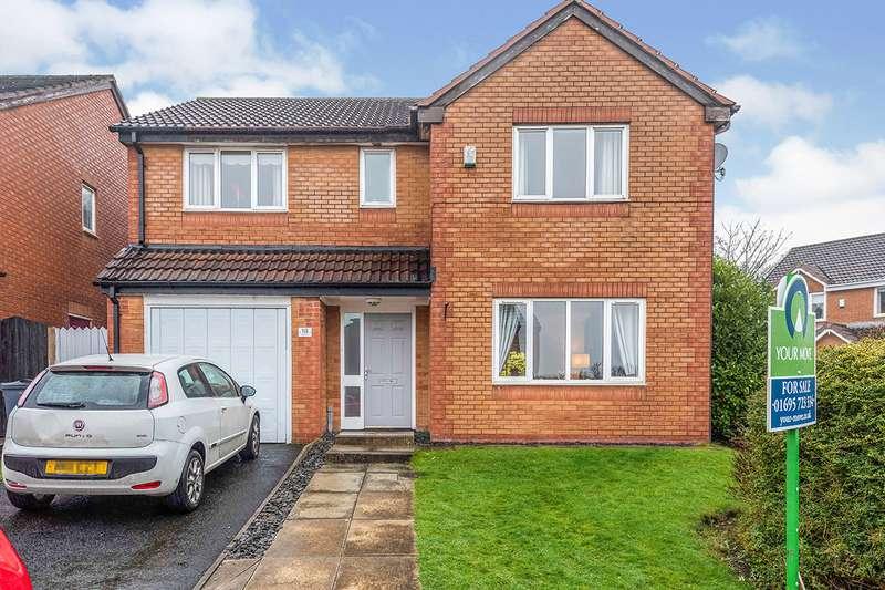 4 Bedrooms Detached House for sale in Edenhurst, Skelmersdale, Lancashire, WN8