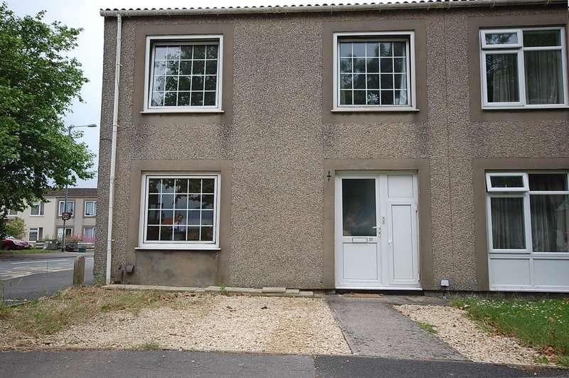 2 Bedrooms Flat for rent in Wharnecliffe Gardens, Bristol, BS14