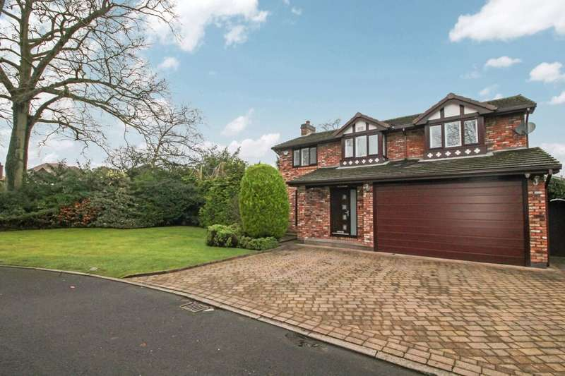 4 Bedrooms Detached House for rent in Ashcroft Close, Wilmslow, SK9