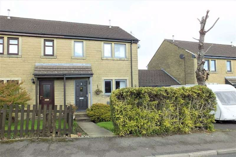 3 Bedrooms Semi Detached House for sale in Riding Close, Barnoldswick, Lancashire, BB18