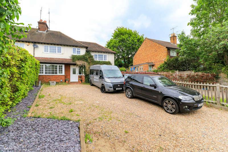4 Bedrooms Semi Detached House for sale in Hertingfordbury Road, Hertford