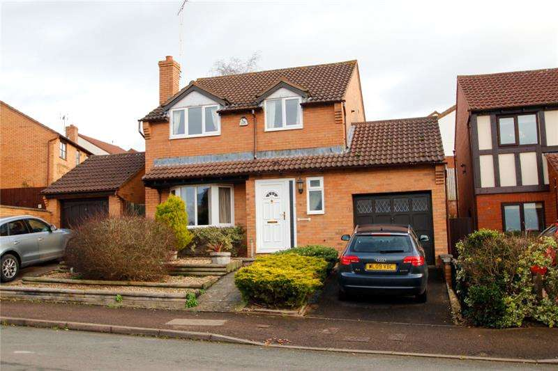 4 Bedrooms Detached House for rent in Vaga Crescent, Wyecroft Park, Ross On Wye, Herefordshire, HR9