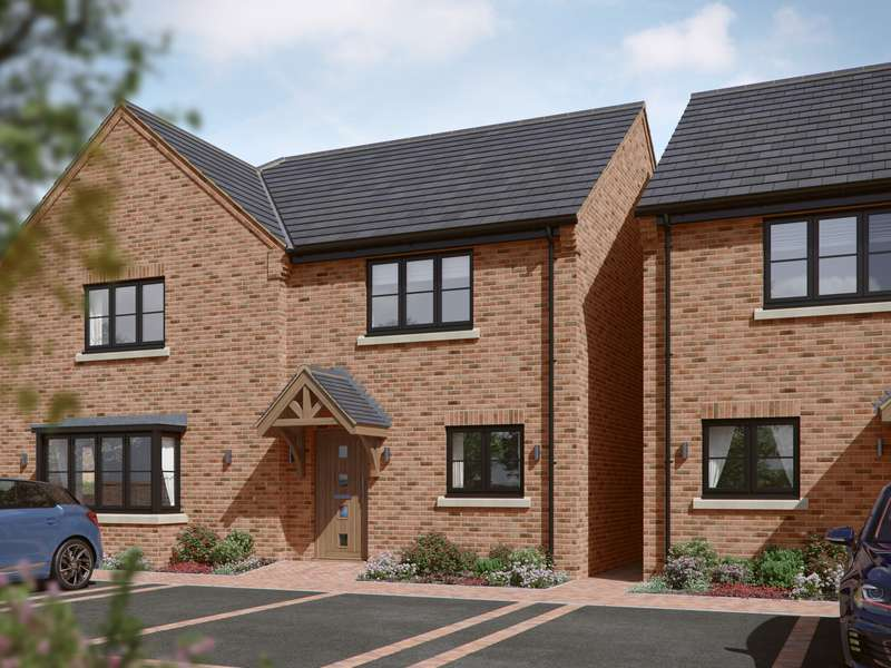 2 Bedrooms Property for sale in Berwick Close, Higher Heath, Whitchurch