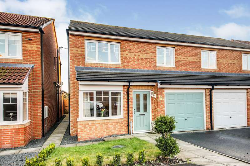 3 Bedrooms Semi Detached House for sale in Cawfields Close, Wallsend, Tyne and Wear, NE28