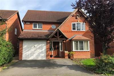 4 Bedrooms Detached House for rent in Templebell Close, Derby, DE23 3YJ
