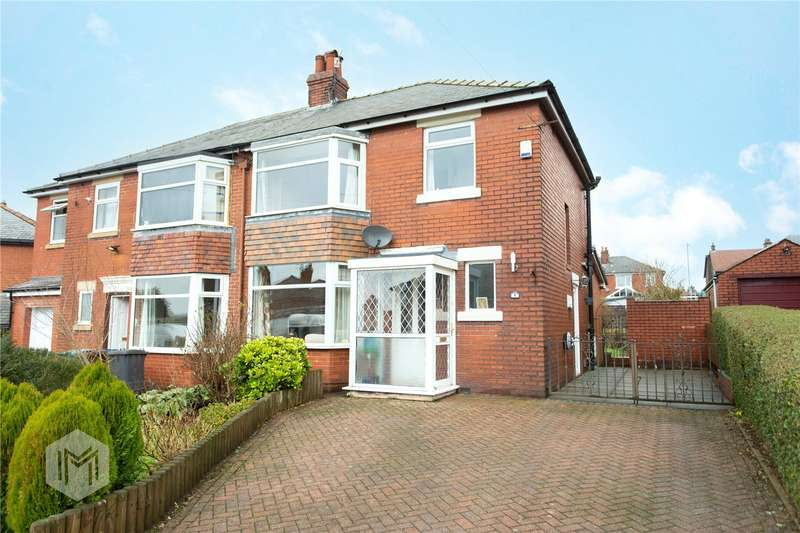 3 Bedrooms Semi Detached House for sale in Linden Avenue, Ramsbottom, Bury, BL0