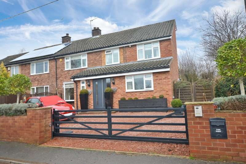 4 Bedrooms Semi Detached House for sale in Corkhill Lane, Normanton