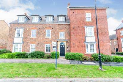 2 Bedrooms Flat for sale in Wilkinson Road, Kempston, Bedford, Bedfordshire