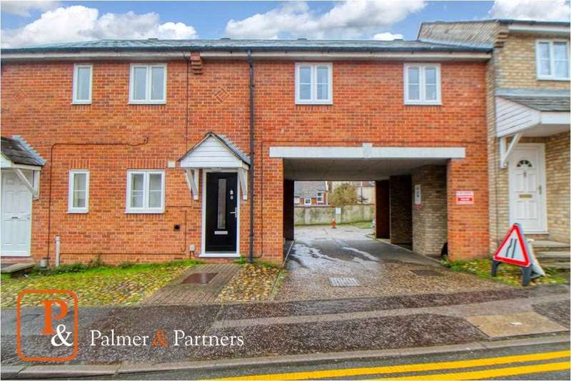 1 Bedroom Maisonette Flat for sale in Fairfax Road, Colchester, CO2