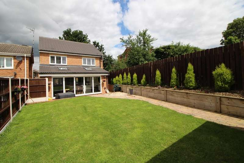 4 Bedrooms Property for sale in Morrell Wood Drive, Belper
