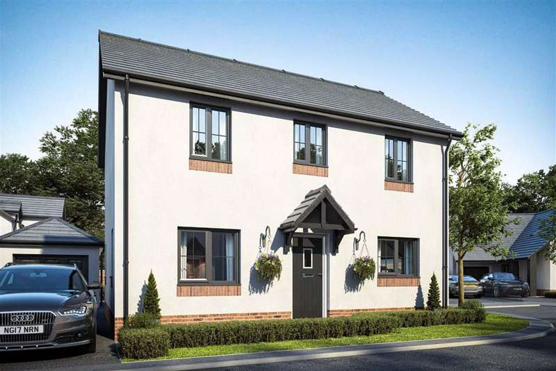 3 Bedrooms Detached House for sale in Cwrt Dolwerdd, Boncath, Pembrokeshire