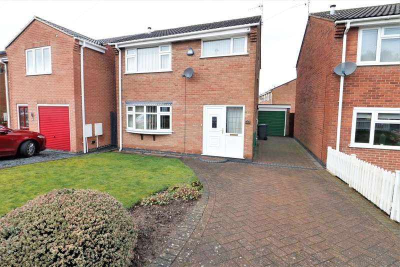 3 Bedrooms Detached House for sale in Windsor Road, Ashby-de-la-Zouch