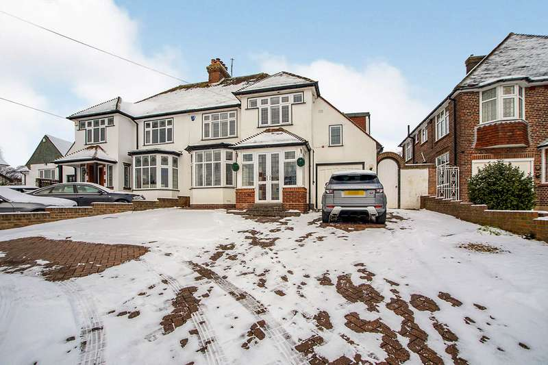 4 Bedrooms Semi Detached House for sale in The Ridgeway, Chatham, Kent, ME4