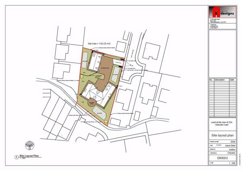 Land Commercial for sale in Cwrt Gwscwm, Burry Port