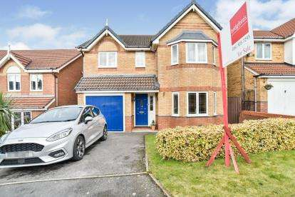 4 Bedrooms Detached House for sale in Ashdowne Lawns, Cypress Oaks, Stalybridge, Greater Manchester