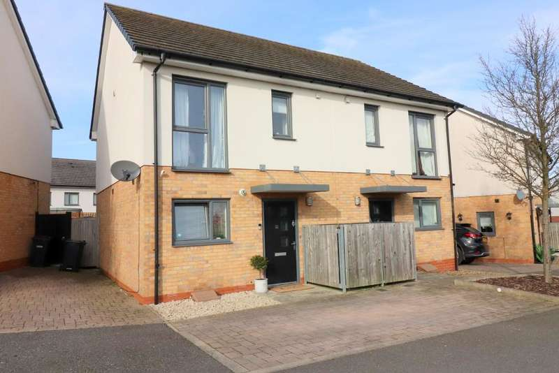 2 Bedrooms Semi Detached House for sale in Someries Hill, Luton, Bedfordshire, LU2 9DL