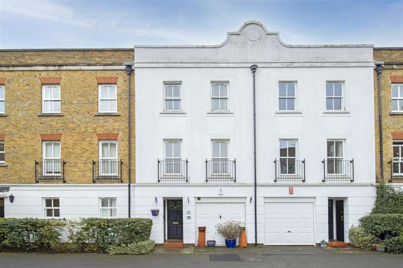 4 Bedrooms House for sale in Byron Mews, Hampstead NW3