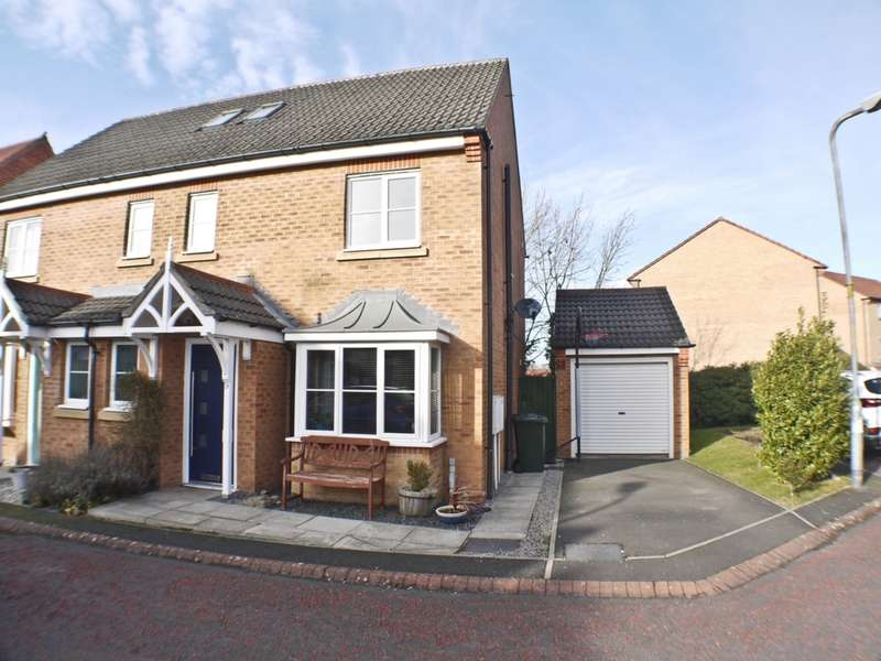 4 Bedrooms Semi Detached House for sale in Towneley Court, Prudhoe, NE42