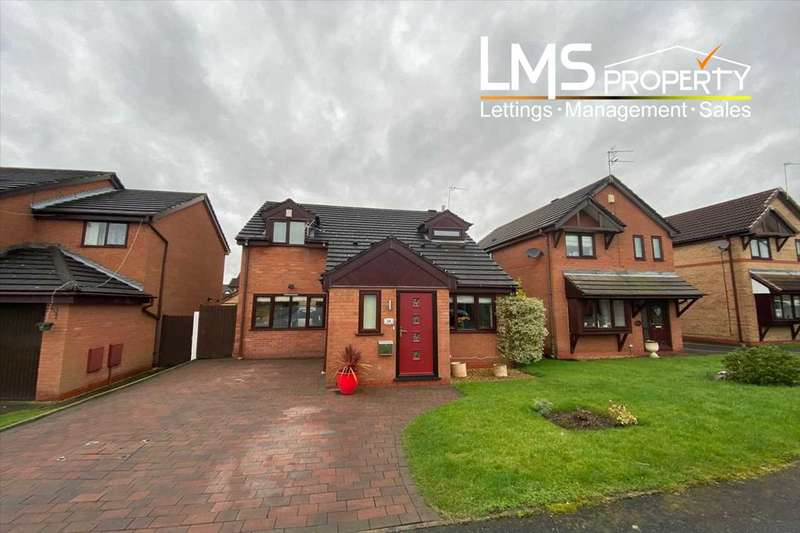 3 Bedrooms Detached House for sale in Elmwood Grove, Winsford