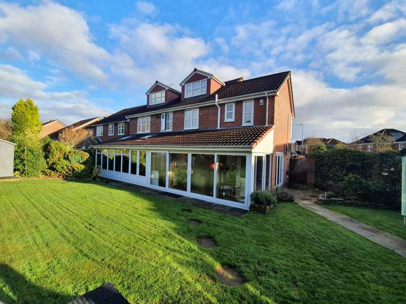 5 Bedrooms Detached House for sale in Ladyhill View, Worsley, Manchester, Greater Manchester, M28