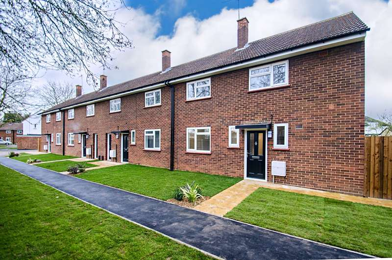 3 Bedrooms End Of Terrace House for sale in Whittle Close, Henlow, Bedfordshire, SG16