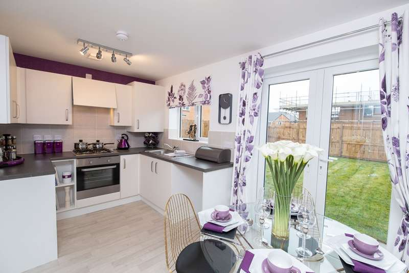 2 Bedrooms Semi Detached House for sale in Plot 165, Cork, Moorside Place, Valley Drive, Carlisle, CA1