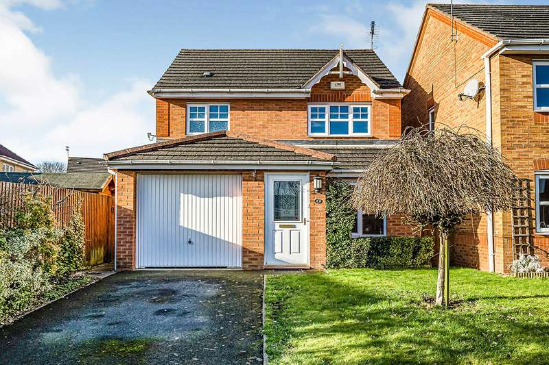 3 Bedrooms Detached House for sale in Huntsman Close, Bilston, West Midlands, WV14