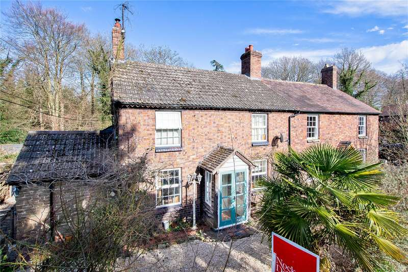 3 Bedrooms Semi Detached House for sale in Rose Cottage, Button Oak, Kinlet, Bewdley, DY12
