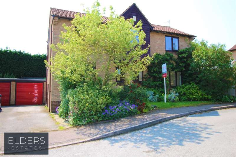 4 Bedrooms Detached House for sale in Priory Gardens, Swanwick, Alfreton