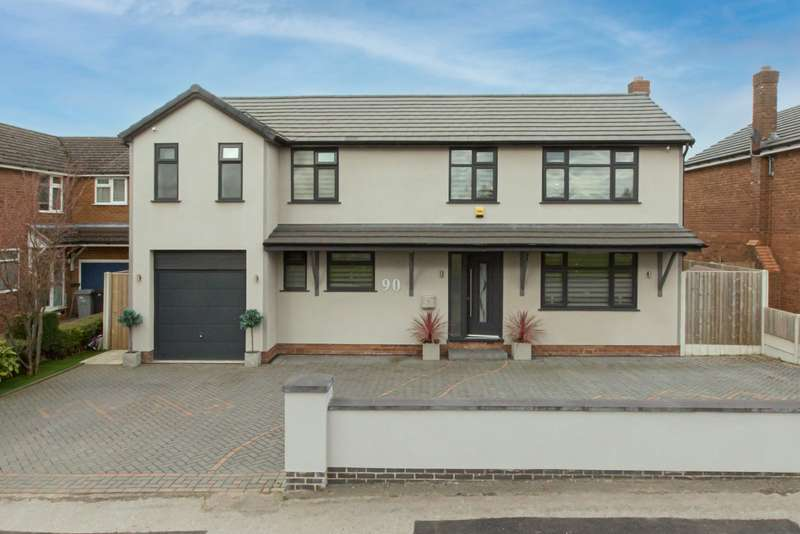 5 Bedrooms Detached House for sale in Holmes Chapel Road, Congleton, Cheshire, CW12