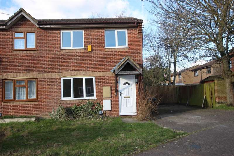 3 Bedrooms Semi Detached House for sale in Hammersmith Close, Houghton Regis, Dunstable