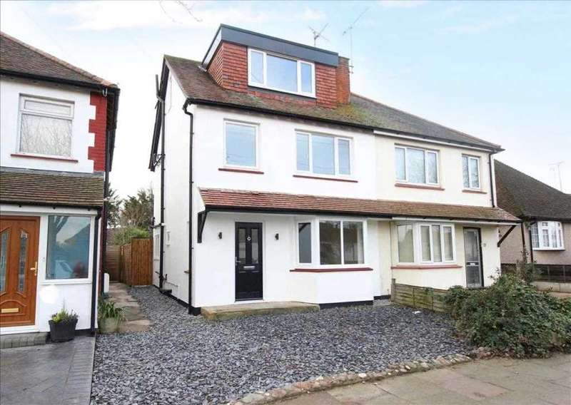 4 Bedrooms Semi Detached House for sale in leigh on Sea