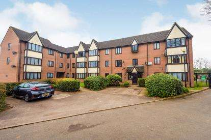 2 Bedrooms Flat for sale in Petunia Court, Luton, Bedfordshire, England