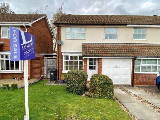 3 Bedrooms Semi Detached House for sale in Tisdale Rise, Kenilworth, Warwickshire