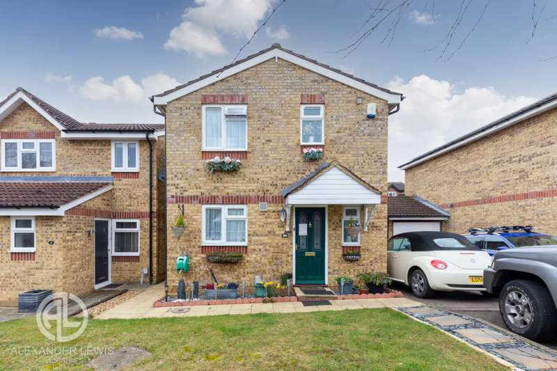 3 Bedrooms Link Detached House for sale in Peppercorn Walk, Hitchin, SG4 0EU