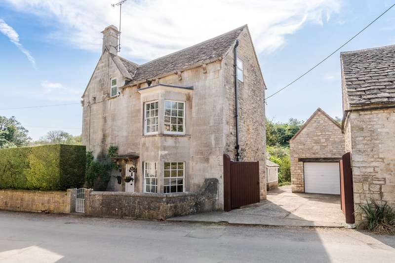 4 Bedrooms Detached House for sale in Nags Head, Avening